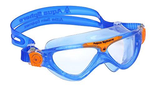 aqua-sphere-vista-junior-swimming-goggles-blue-orange-16-cm