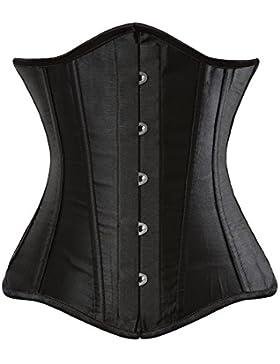 Grebrafan Premium stecche in acciaio Underbust corsetto-più taglie
