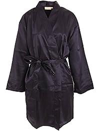 Forever Dreaming - Bata de estar por casa kimono liso para mujer