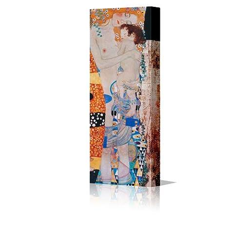Gustav Klimt Mother and Child Framed Canvas Art Picture Print