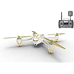 Hubsan H501S X4 Pro BRUSHLESS FPV Drone FPV Transmisor GPS 1080p HD Cámara Cuadricóptero High Edition (H501S Blanco)