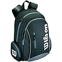 Wilson Tasche Advantage Backpack Mochila-Unisex, Negro/Blanco, NS