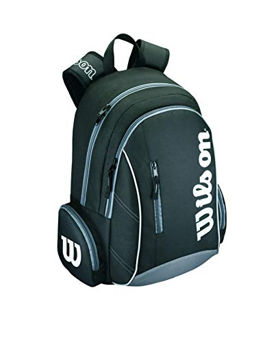 Wilson Rucksäcke Advantage II Backpack Tasche, Black/White, 31 x 18 x 47 cm -
