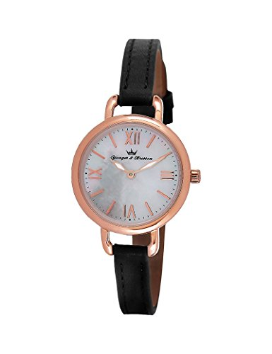 Yonger & Bresson DCR 051/BA - Reloj para mujer, nácar, blanco