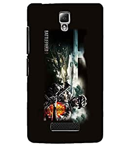 PRINTSWAG SOLDIER Designer Back Cover Case for LENNOVO A2010