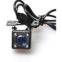 Coche HD Universal Reserva Cámara [control de un botón] LED Nocturna Visión : NTSC / PAL y Frente Vista (no Reflejada) / Visión Inversa (Reflejada) y Estacionamiento líneas / no Estacionamiento líneas interruptor - multi-funcional