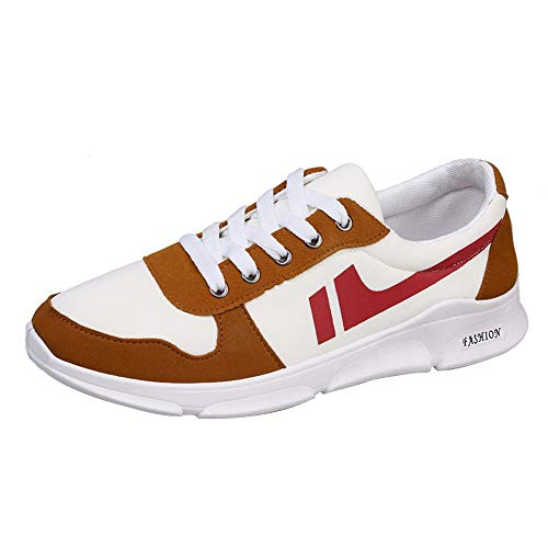 Sneaker Herren Atmungsaktiv Fitnessschuhe Classic Laufschuhe Rutschfeste Turnschuhe Männer Schnürer Running Shoes Low-Top Sportschuhe Herrenschuhe