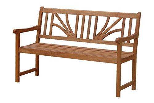 Indoba Gartenbank, 2, 5-Sitzer 'Lotus' - Serie Lotus, braun, 135 x 61 x 88 cm, IND-70025-GB25