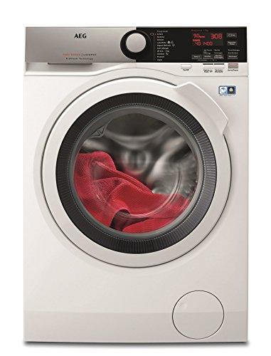 AEG L7FEE942 Autonome Charge avant 9kg 1400tr/min A+++ Blanc machine à laver - Machines à laver (Autonome, Charge avant, Blanc, boutons, Rotatif, Gauche, 9 kg) AEG