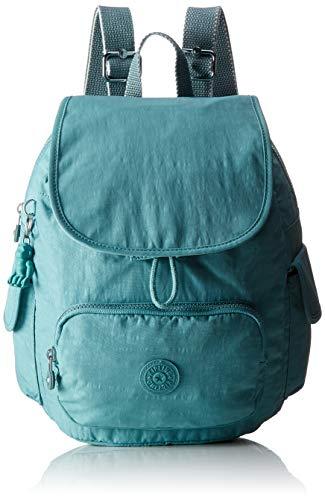 Kipling Damen City Pack S Rucksack, Blau (Aqua Frost), 27x33.5x19 centimeters