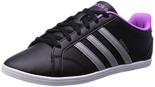 buy cheap 4c4d3 f703c adidas Neo CONEO QT VS Zapatillas Sneakers Negro Purpura para Mujer