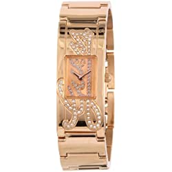 Guess - W12097L1 - Montre Femme - Quartz Analogique - Cadran Doré - Bracelet Acier Doré