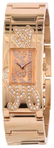 Guess Damen Armbanduhr Mini Autograph W12097L1 (Guess Gold-männer Rose Uhr)