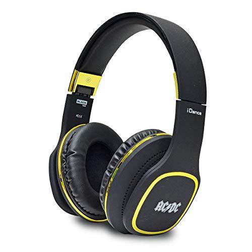 iDance ACDC Black 100GD Auriculares de Diadema Bluetooth AC/DC,...