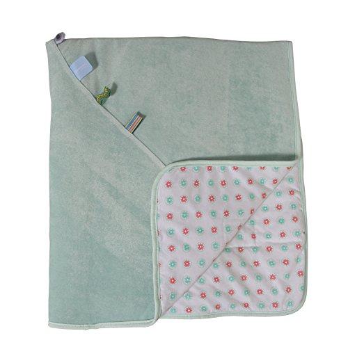 Snoozebaby Baby Bio Kinderbett Decke (mint) (Baby Kinderbett Decke)