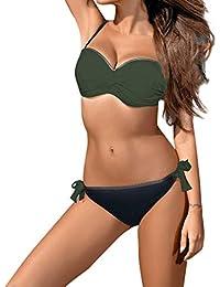 6ecd9690160d6 Amazon.es  Transparente - Bikinis   Ropa de baño  Ropa