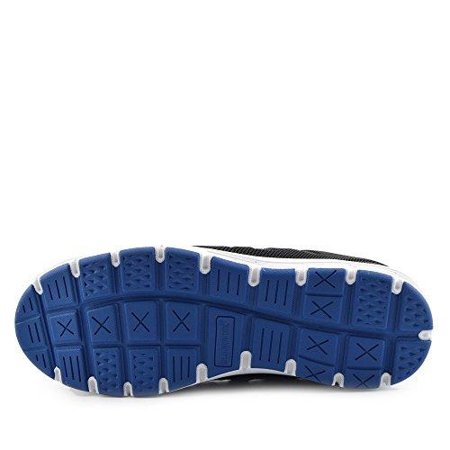 Kick Footwear - Groundwork - Scarpe Unisex Adulto ,Scarpe antinfortunistiche uomo Stivali da neve uomo Nero-Blu