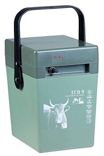 Chapron Weidezaungerät ECO9, 9 Volt Batteriegerätfür Pferde, Rinder Hunde, Elektrozaungerät, Weidezaun, Elektrozaun