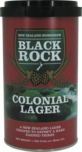 Black Rock 21425 - Kit Cerveza Colonial Lager