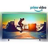 Philips 164 cm (65 inches) 6700 Series 4K Ambilight LED Smart TV 65PUT6703S/94 (Dark Sliver)