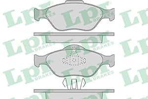 LPR - 438.31.96 - 05P949 - plaquettes de frein, frein à disque