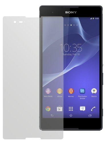 dipos I 2X Schutzfolie matt passend für Sony Xperia T2 Ultra Folie Bildschirmschutzfolie