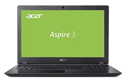 Acer Aspire 3 (A315-51-3388) 39,6 cm (15,6 Zoll Full-HD matt) Multimedia Laptop (Intel Core i3-8130U, 4 GB RAM + 16 GB Intel Optane Speicher, 1000 GB HDD, Intel UHD, Win 10) schwarz