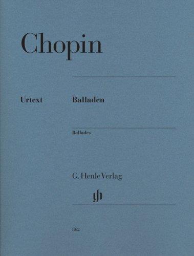 Balladen Klavier