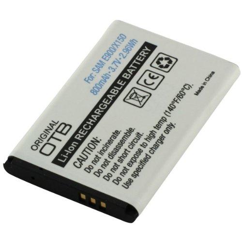 Akku, Ersatzakku mit 800mAh !!! für Samsung E1080 / E1100 / E1120 / E1150 / E1310 / / E1360 / 2100 / Glamour S5150 / S3030 / S3110 / SGH-B130 / SGH-B300 / SGH-B320 / SGH-B520 / SGH-C130 / SGH-C140 / SGH-C260 / SGH-C270 / SGH-C300 / SGH-D520 / SGH-D730 / SGH-E210 / SGH-E250 / SGH-E380 / SGH-E500 / SGH-E900 / SGH-M150 / SGH-M200 / SGH-M310 / SGH-X150 / SGH-X160 / SGH-X200 / SGH-X210 / SGH-X300 / SGH-X500 / SGH-X510 / SGH-X520 / SGH-X530 / SGH-X630 Li-Ion PDA-Punkt