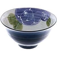 Blue Rose 11.6cm Ciotola di riso Ceramic Fatto in