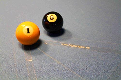Big Bang Pro 8-Ball Aufbau-Schablone (8 Ball Billard)