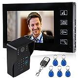 Interphone vidéo Multi (Code, RFID, télécommande)