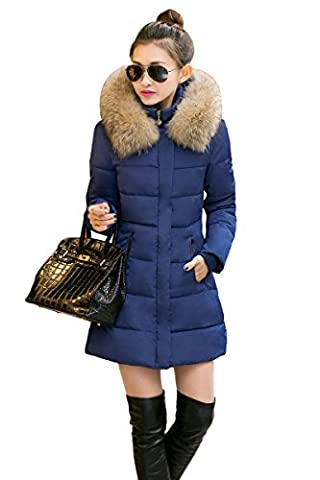 YMING Damen Mantel Wintermantel