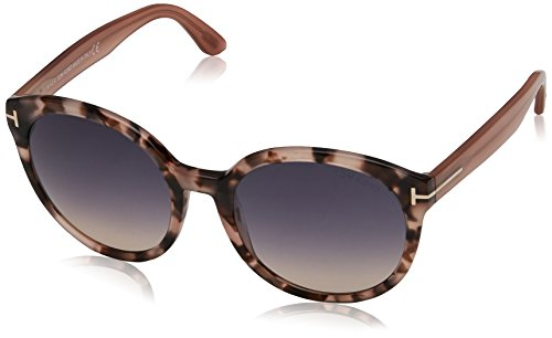 TOM FORD Sonnenbrille FT0503 SUNGLASS Undershorts HAVANA PINK WITH VIOLET ROSE, 55