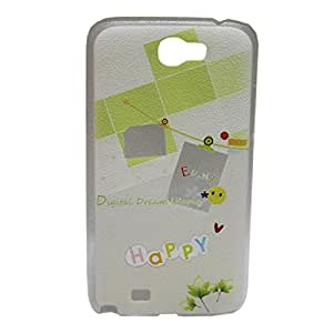 Happy Hard Back Case Cover For Samsung Galaxy Note 2 N7100