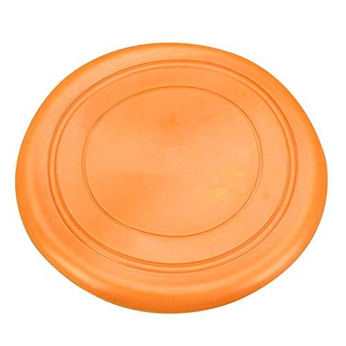 Hunde Frisbees, 17.5cm - Welpen Ausbildung Spielzeug Cute Pet Hund Silikon Flying Disc Tooth Resistant Outdoor Hundetraining Fetch Spielzeug Ideal für Hundetraining (Random Colors),RandomColors -