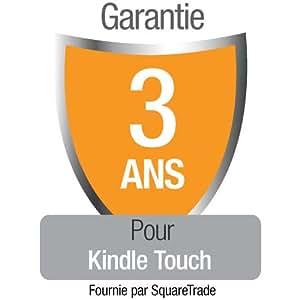 Garantie de 3 ans avec protection en cas d'accident et de vol pour Kindle Touch, réservée à notre clientèle résidant en France Métropolitaine