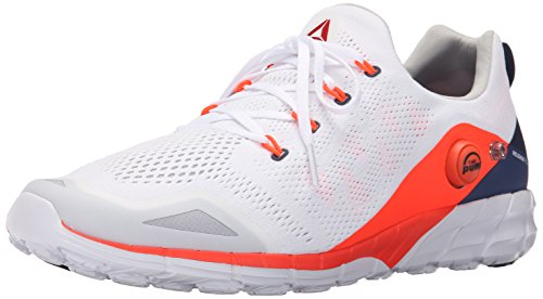 Reebok Zpump Fusion 2.0 Knit chaussure de course White-Red-Blue-Navy-Steel