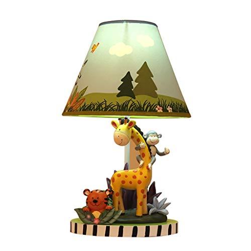 Dimmbare Tier Tischlampe Niedlichen Kinderzimmer Schlafzimmer Nachttischlampe Giraffe Tiger Affe Form Junge Mädchen Tischlampe Lampen und Beleuchtung