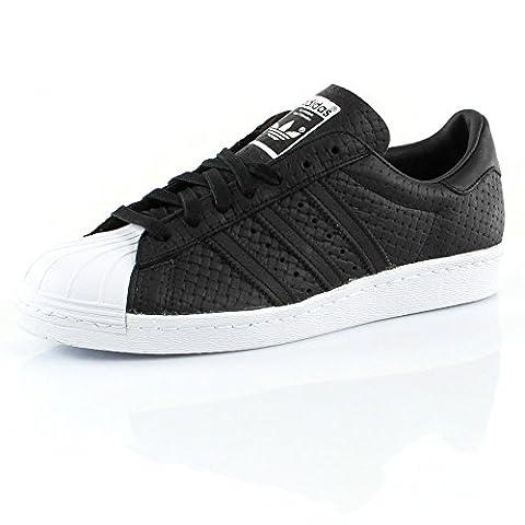 Adidas Superstar 80's Woven Homme Baskets Mode Noir - Noir
