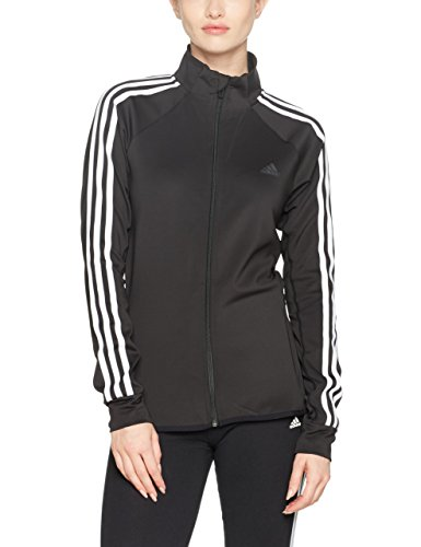 adidas Damen Design To Move Sweatjacke, Black, L