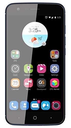 ZTE Blade V8 Lite Smartphone Portable Débloqué 4G (Ecran: 5 Pouces - 16 Go - Double Nano-SIM - Android) Bleu Nuit