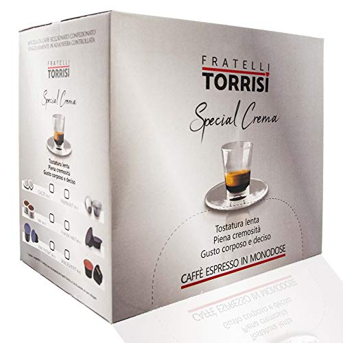 Caffè Torrisi Special Crema - 100 Espresso Kapseln Kompatible Nespresso®