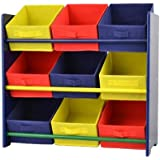 kinderregal m bel f r 39 s kinderzimmer kinderm bel kiefernholz bunt lackiert. Black Bedroom Furniture Sets. Home Design Ideas