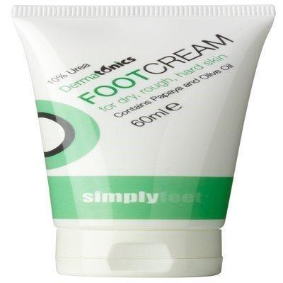 Simply Feet - Crème Urée 10% - Couleur unique, 60ml