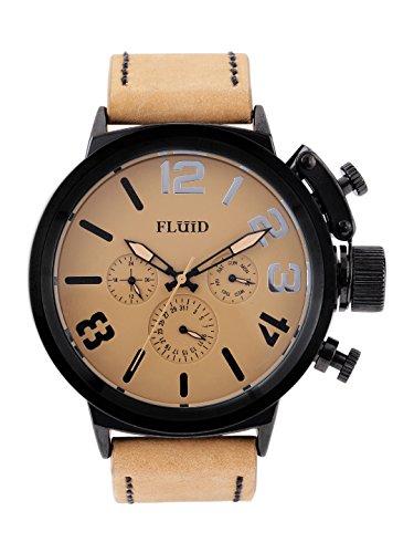 Fluid FL157-TN-BK Luxury Collection - Multi Function Watch For Men