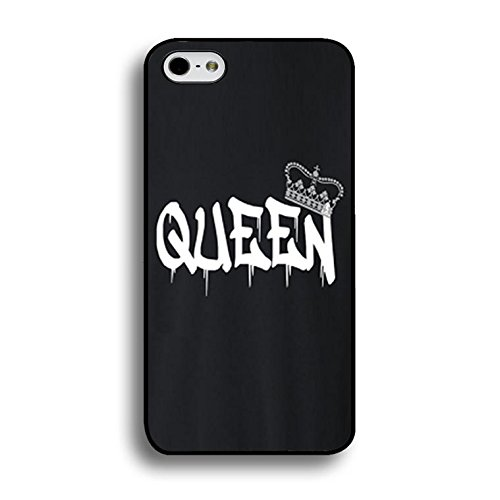 Art King Queen Case for Iphone 6 Plus/6s Plus 5.5 Inch Funny Cool Cartoon Cover Fashion Couples Hard Phone Cases for Iphone 6 Plus/6s Plus 5.5 Inch Color148d