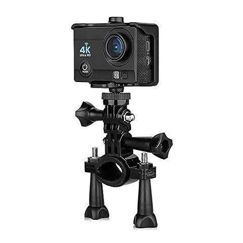 Excelvan Caméra de Sport Embarquée Q6, Full HD, 4K, 170 degrés HD Grand-Angle, Anti-vibrations, Android et IOS