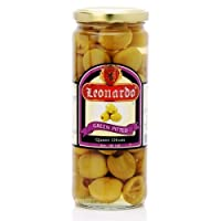 Leonardo Queen Pitted Green Olives, 450g