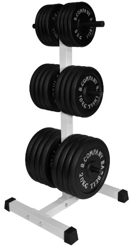Pro Hantelscheibenständer, bis zu 150 kg, 6 Stangen